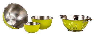 Imperial Home 3 Piece Stainless Steel Mixing