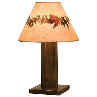 Fireside Lodge Frontier 30'' Table Lamp; Cottonwood