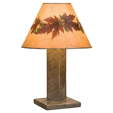 Fireside Lodge Frontier 30'' Table Lamp; Driftwood
