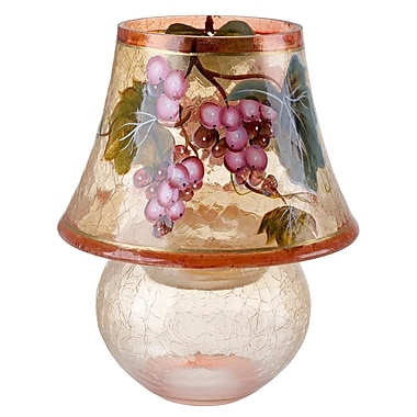 Fleur De Lis Living Tuscany Murano Glass Tealight