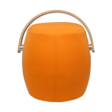 George Oliver Jeremiah Bucket Garden Stool; Orange