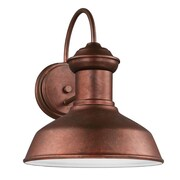 Longshore Tides Elianna Traditional 1-Light Outdoor Barn Light; Weathered Copper