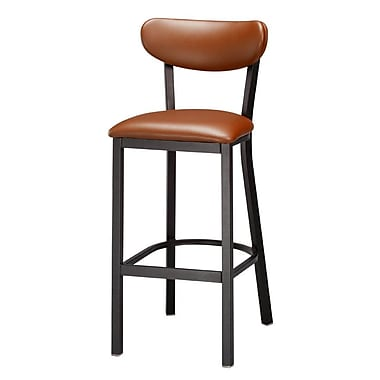 Loon Peak Audel 30'' Bar Stool; Burnt Sienna