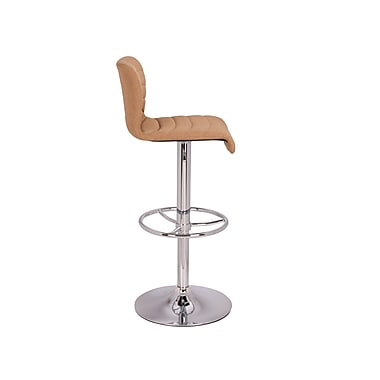 Orren Ellis Sheelah Adjustable Height Bar Stool