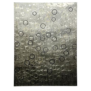 Orren Ellis 'Bubbles Floating to the Water Line' Painting