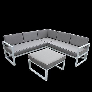 Orren Ellis Riem Sectional w/ Cushions