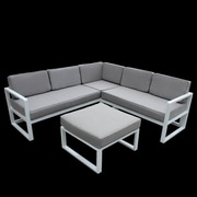 Orren Ellis Riem Sectional w/ Cushions