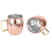 Mint Pantry Fitzgerald 16oz. Cocktail Moscow Mule Mug (Set of 2)