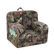 Mossy Oak Nativ Living Mason Grab-n-Go Kids Foam Chair w/ Handle and 2 Pockets