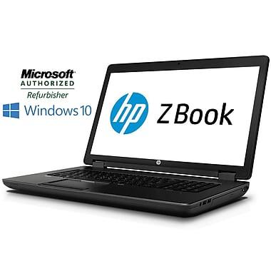 HP - Zbook 15 remis à neuf, 15,6 po, 2,7 GHz Intel Core i7-4800MQ, DD 240 Go, 16 Go DDR3, Windows 10 Pro