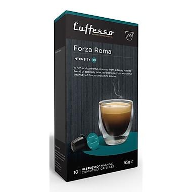 Caffesso - Café Forza Roma, intensité 10, 10/paquet