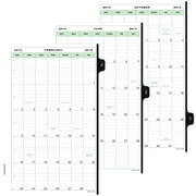 "Day-Timer® Classic Two Page Per Week Refill, 12 Months, January Start, Loose-Leaf, Desk Size, 5 1/2""x8 1/2"" (91010-1801)"