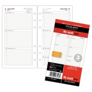 "AT-A-GLANCE® Day Runner® Weekly Planner Refill, 12 Months, January Start, Loose-Leaf, 3 3/4""x6 3/4"" (063-285Y-18)"