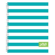 "2018 Dabney Lee for Blue Sky 8-1/2"" x 11"" Weekly/Monthly Frosted Planner, Cabana (103306)"
