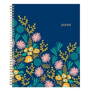 "2018 Snow & Graham for Blue Sky 8-1/2"" x 11"" Weekly/Monthly Frosted Planner, Kukka (103281)"