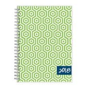 "2018 Dabney Lee for Blue Sky 5-7/8"" x 8-5/8"" Weekly/Monthly Frosted Planner Notes, Hexagon (103351)"