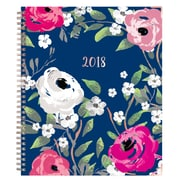 "2018 Blue Sky 8"" x 10"" Weekly/Monthly Hardcover Planner, Blossom (101916)"