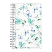 "2018 Blue Sky 3-5/8"" x 6-1/8"" Weekly/Monthly Frosted Planner, Lindley (101580)"