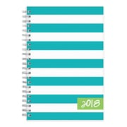 "2018 Dabney Lee for Blue Sky 5"" x 8"" Weekly/Monthly Frosted Planner, Cabana (103328)"