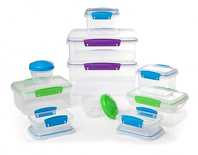 Sistema 10 Container Food Storage Set WYF078281948589