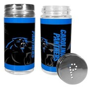 Siskiyou Products NFL 2 Piece Shakers Salt and Pepper Set; Carolina Panthers