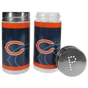 Siskiyou Products NFL 2 Piece Shakers Salt and Pepper Set; Chicago Bears