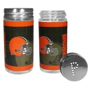 Siskiyou Products NFL 2 Piece Shakers Salt and Pepper Set; Cleveland Browns