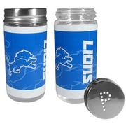 Siskiyou Products NFL 2 Piece Shakers Salt and Pepper Set; Detroit Lions