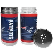 Siskiyou Products NFL 2 Piece Shakers Salt and Pepper Set; New England Patriots