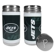 Siskiyou Products NFL 2 Piece Shakers Salt and Pepper Set; New York Jets
