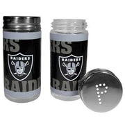 Siskiyou Products NFL 2 Piece Shakers Salt and Pepper Set; Oakland Raiders