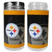 Siskiyou Products NFL 2 Piece Shakers Salt and Pepper Set; Pittsburgh Steelers
