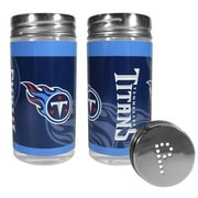 Siskiyou Products NFL 2 Piece Shakers Salt and Pepper Set; Tennessee Titans