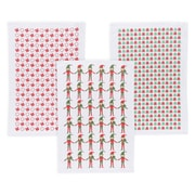 TAG Holiday Peppermint Pop Dishcloth (Set of 3)