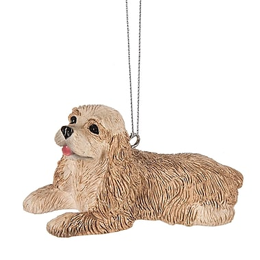 The Holiday Aisle Cocker Spaniel Dog Hanging Figurine