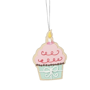The Holiday Aisle Cupcake Hanging Figurine