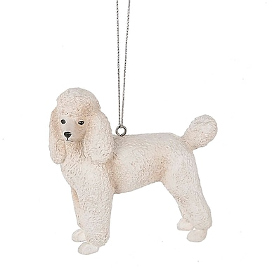 The Holiday Aisle Poodle Hanging Figurine