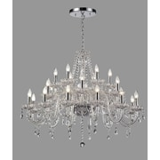 Willa Arlo Interiors Daly 24-Light Crystal Chandelier