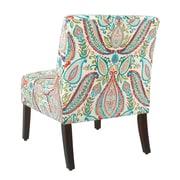 Winston Porter Alleyton Paisley Slipper Chair
