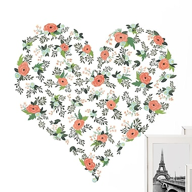 WallPops! 14 Piece From the Heart Wall Decal Set