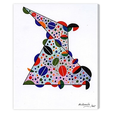 Bloomsbury Market 'Geometric Dots' Painting Print on Wrapped Canvas; 24'' H x 20'' W x 1.5'' D