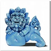 Bloomsbury Market 'Foo Dog' Painting Print on Canvas; 50'' H x 50'' W x 1.5'' D