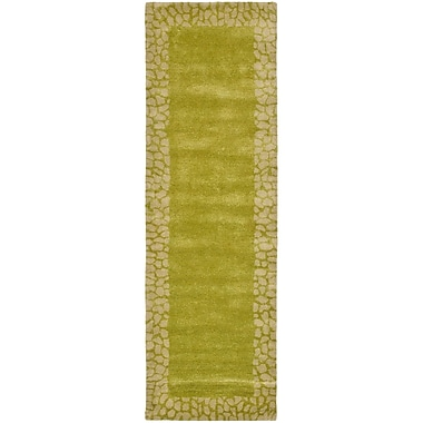 Bloomsbury Market Dorthy Light Green Area Rug; Runner 2'6'' x 8'
