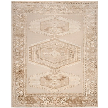 Bloomsbury Market Hanna Hand Knotted Beige Area Rug; 8' x 10'