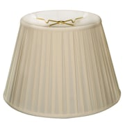 Darby Home Co 16'' Silk/Shantung Empire Lamp Shade; Eggshell
