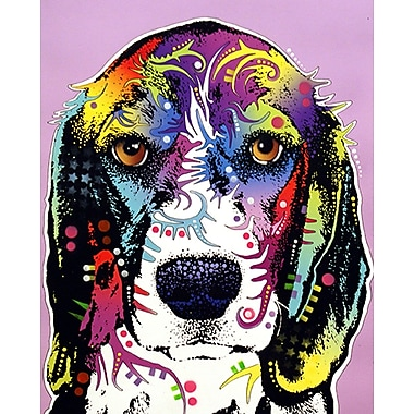 East Urban Home '4 Beagle' Graphic Art Print; Paper