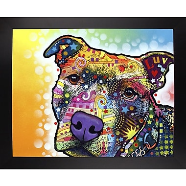 East Urban Home 'Contemplative Pit' Graphic Art Print; Black Large Framed