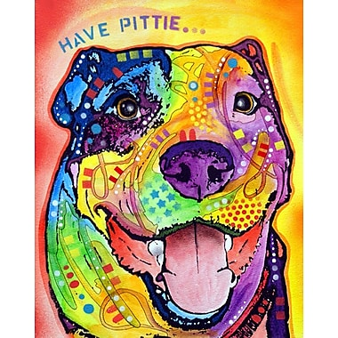 East Urban Home 'Have Pittie' Graphic Art Print; Paper