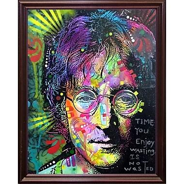 East Urban Home 'Lennon Front' Graphic Art Print; Cherry Grande Framed