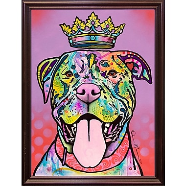 East Urban Home 'Imperial' Graphic Art Print; Cherry Grande Framed